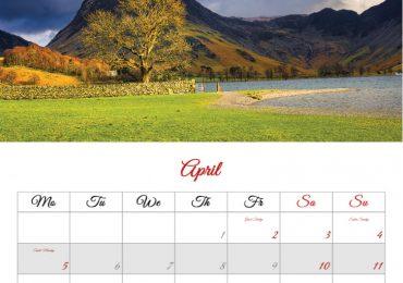 Lake District 2021 Calendar