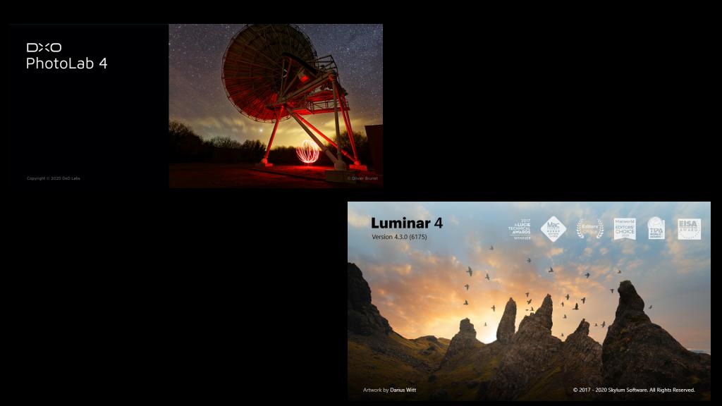 DXO Photo Lab 4 vs Luminar 4