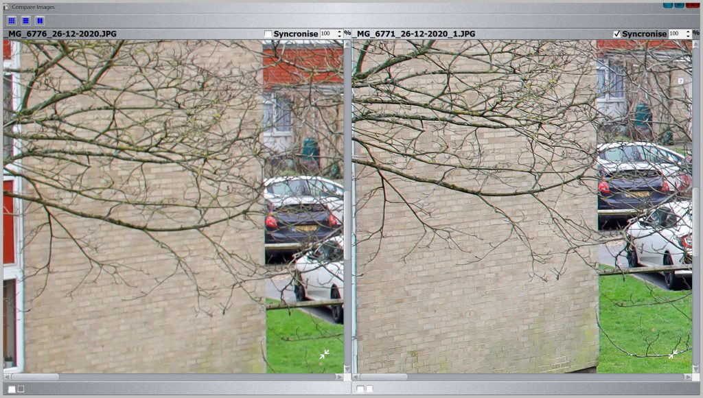 Gigapixel AI vs A High Resolution Image