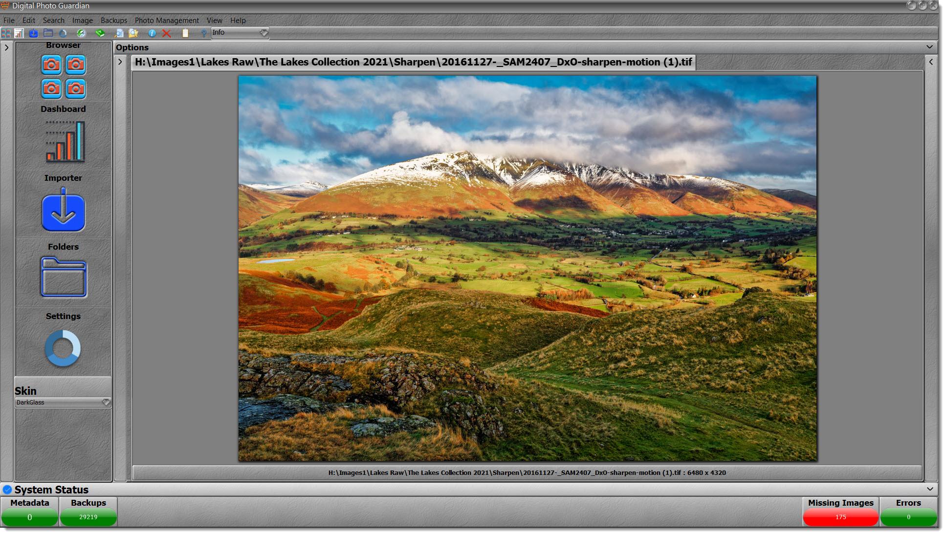 Gigapixel Test - Landscape Image