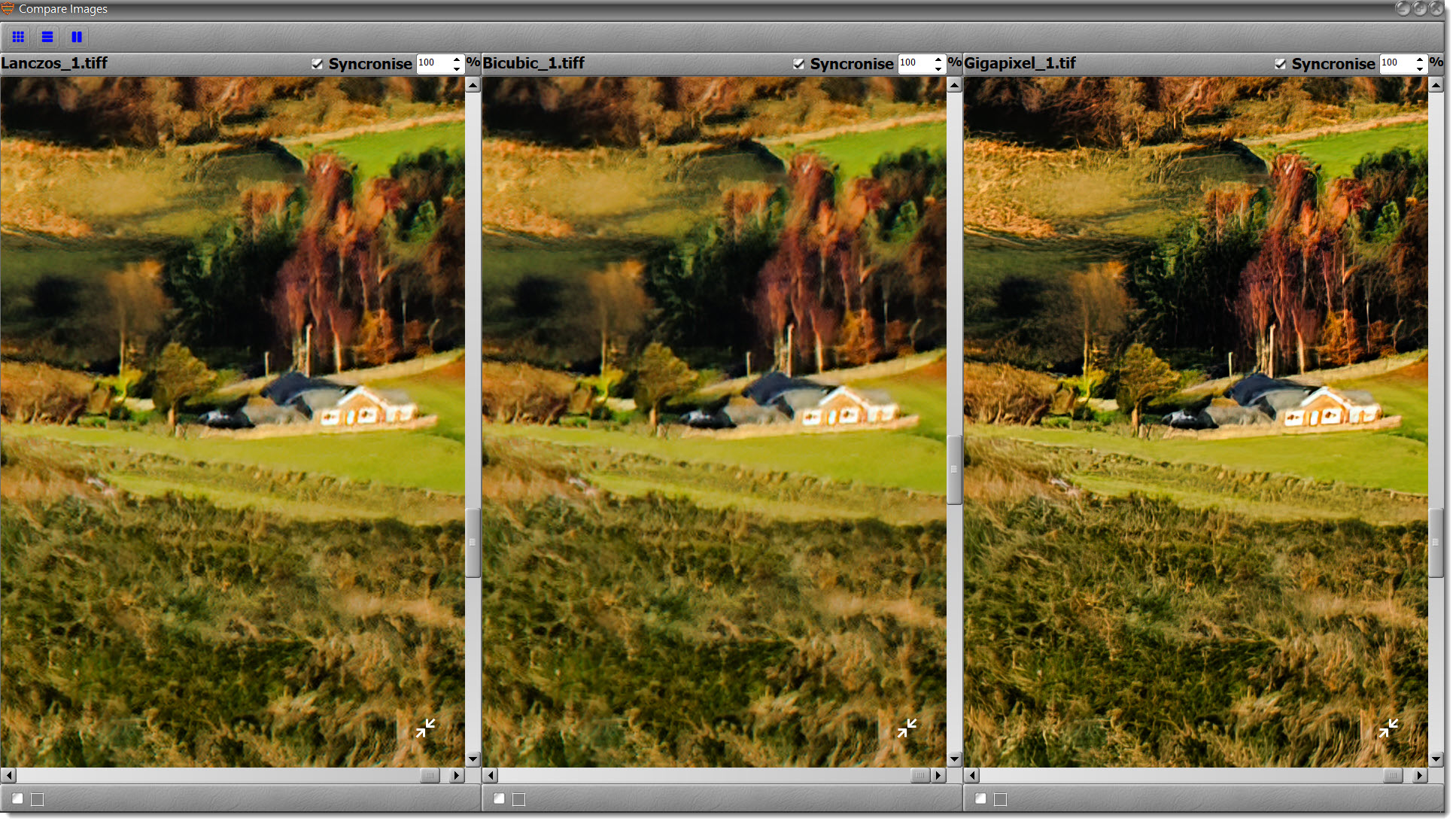 Image Resize Without Losing Quality - Results