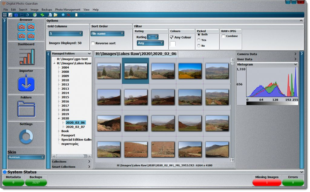 Photo Software Updates and Announcing Digital Photo Guardian